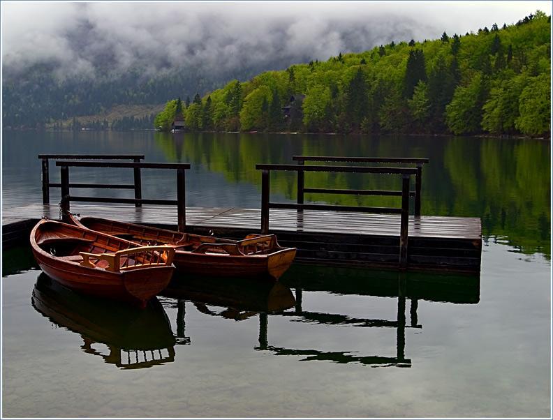 """фото """"Пасмурный день"""" метки: пейзаж, вода, облака"""
