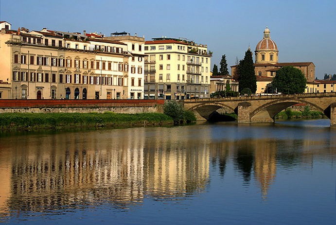 "photo ""Firenza"" tags: architecture, landscape, water"