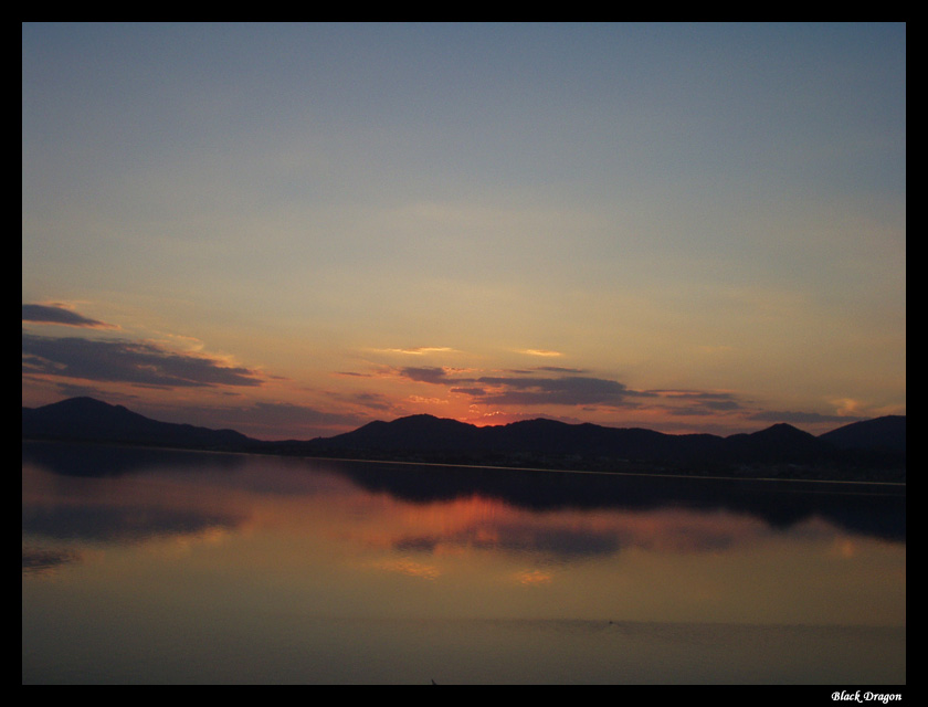 "photo ""For an hour till the midnight"" tags: landscape, mountains, sunset"
