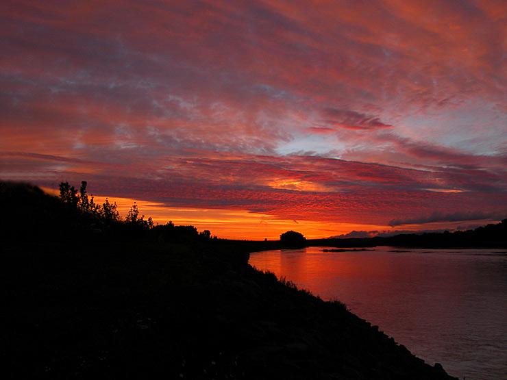 """photo """"sunrise#2"""" tags: landscape, sunset"""