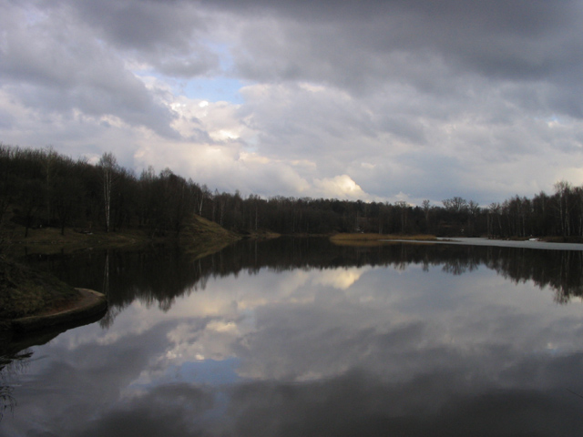 "photo ""Lake"" tags: landscape, clouds, water"