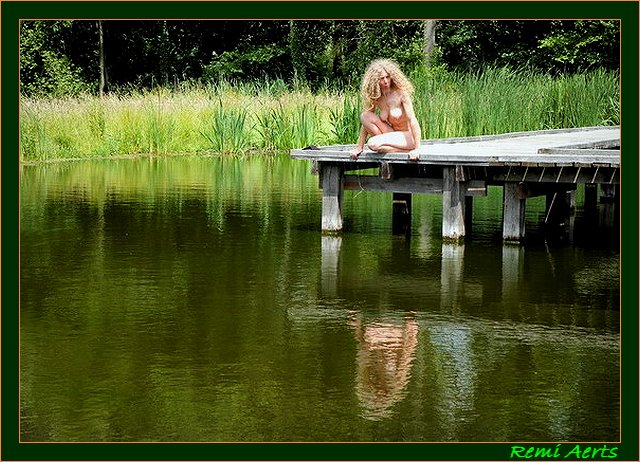 "photo ""summer in Belgium"" tags: portrait, nude, woman"