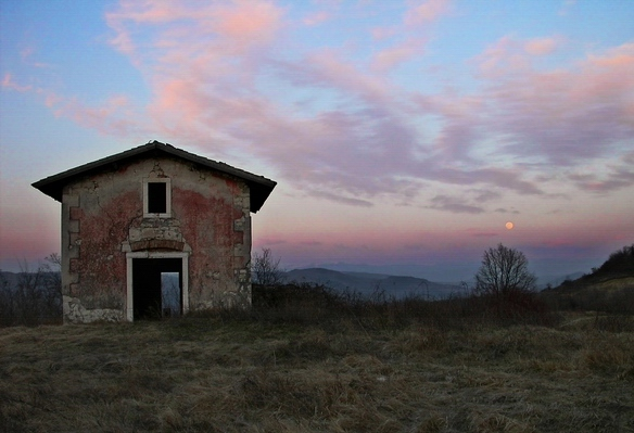 "photo ""Red House"" tags: travel, landscape,"