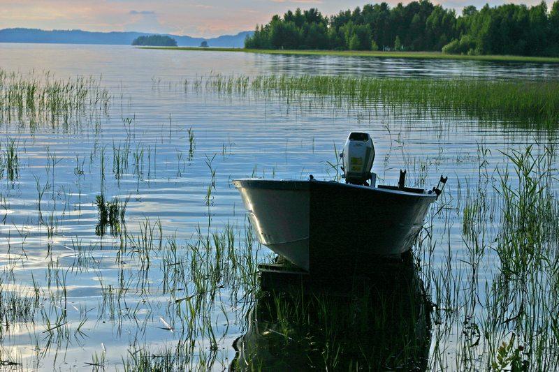 "photo ""My little boat..."" tags: landscape, water"
