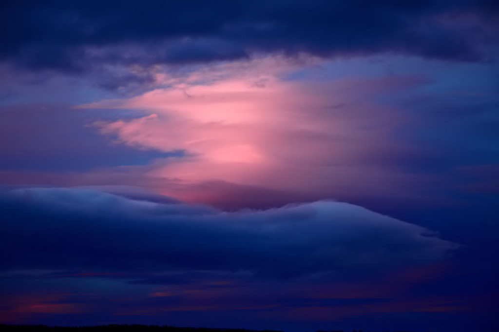 "photo ""Morning sky"" tags: nature, landscape, clouds"