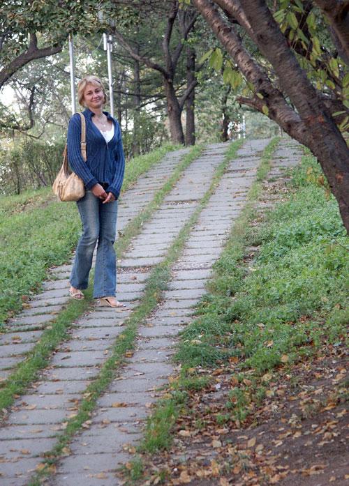 """фото """"В парке"""" метки: портрет, женщина"""