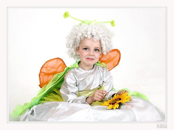 "photo ""Butterfly"" tags: portrait, genre, children"