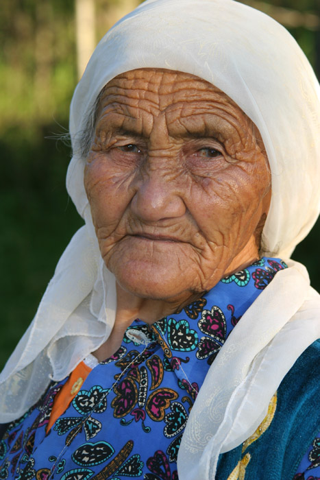 "photo ""Kazakh old woman"" tags: portrait, woman"