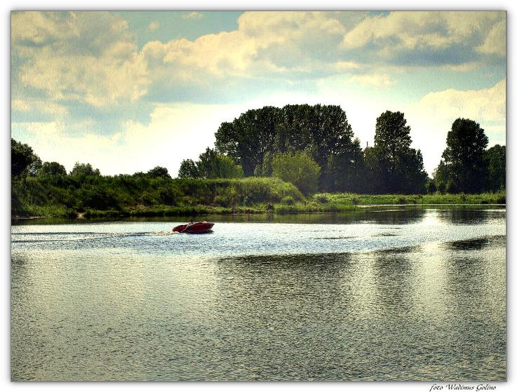 "photo ""And the middle of summer..."" tags: landscape, summer, water"