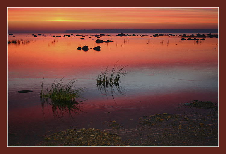 "photo ""Pre-dawn pacification"" tags: landscape, sunset, water"