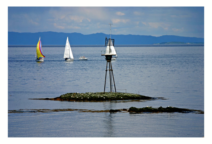 "photo ""Boat life on Trondheim Fjord"" tags: landscape, water"