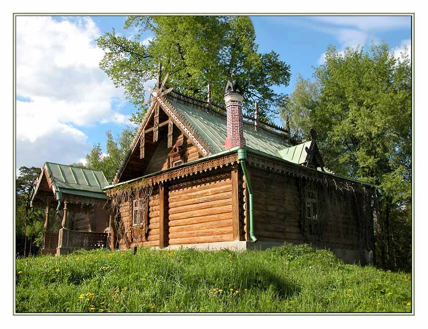 "photo ""Workshop of artists"" tags: landscape, nature, summer"