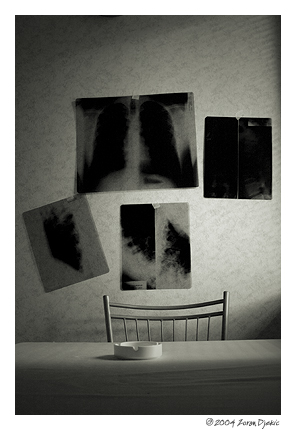 "photo ""X-Ray Kitchen"" tags: black&white, abstract,"