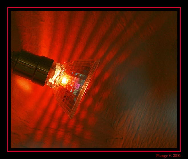 "photo ""... red light ..."" tags: genre, montage,"