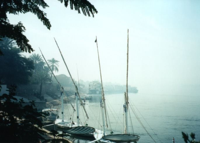 "photo ""Foggy Nile"" tags: landscape, travel, Africa, water"