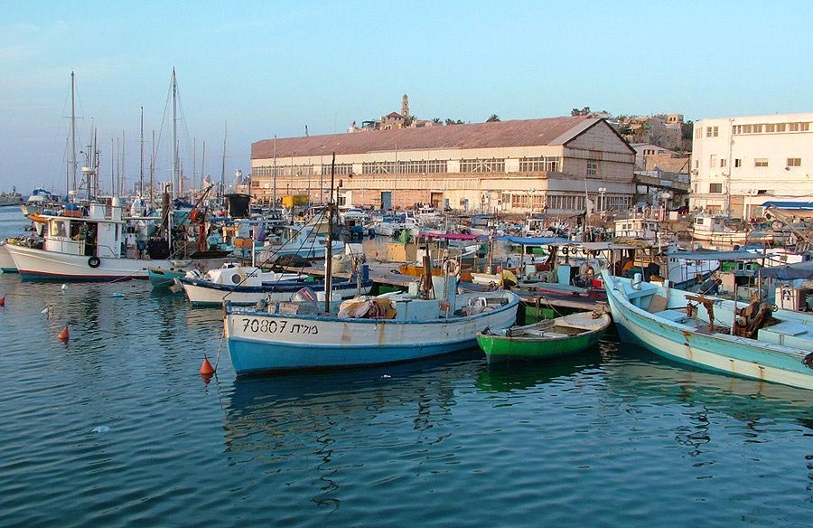 "photo ""Jaffa Harbour"" tags: travel, Asia"