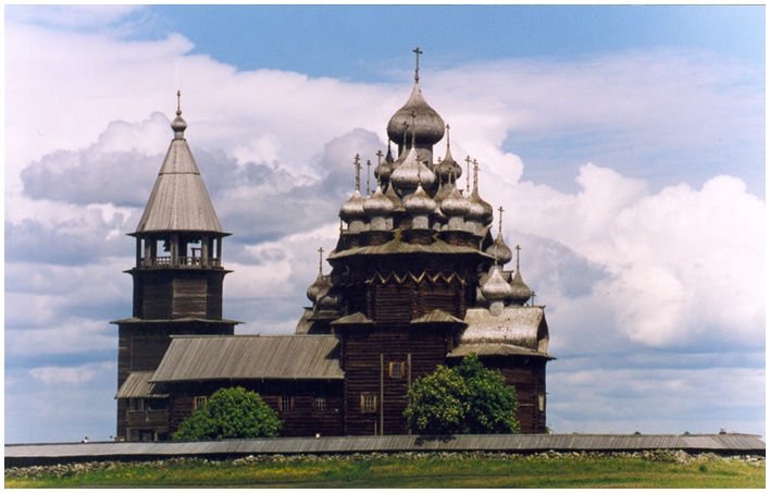 "photo ""Republic Karelia. Kizhi."" tags: travel, architecture, landscape,"