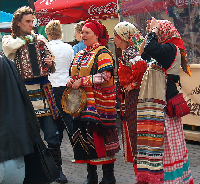 "photo ""Smiles of street Arbat. Russian Song"" tags: genre,"