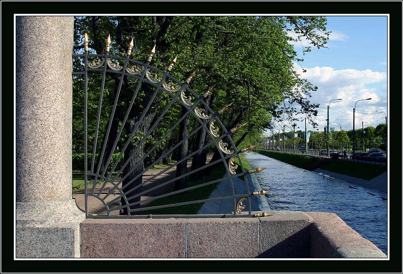 """фото """"Этюды Летнего сада-1"""" метки: архитектура, пейзаж, лето"""