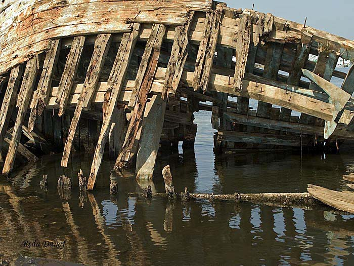 "photo ""Ship wreck"" tags: landscape, still life, water"