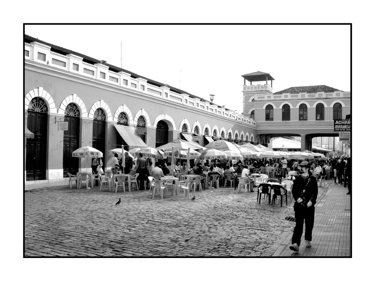 "photo ""Florianopolis Market"" tags: black&white,"