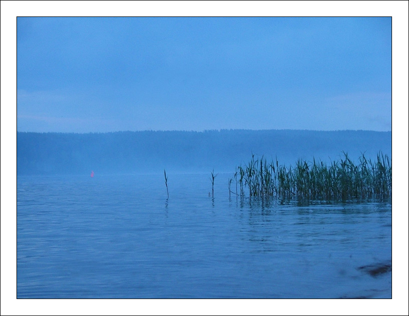 "photo ""Sail in a fog"" tags: landscape,"