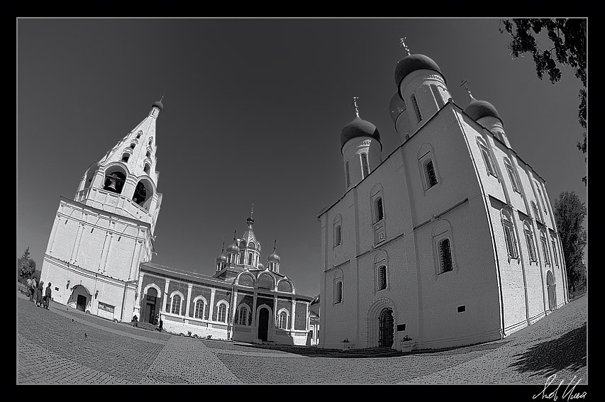 "photo ""In Kolomna"" tags: architecture, black&white, landscape,"