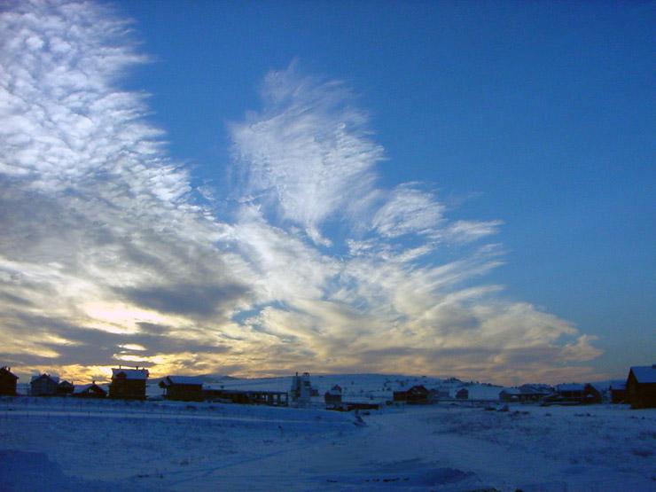 """фото """"*****"""" метки: пейзаж, закат, облака"""