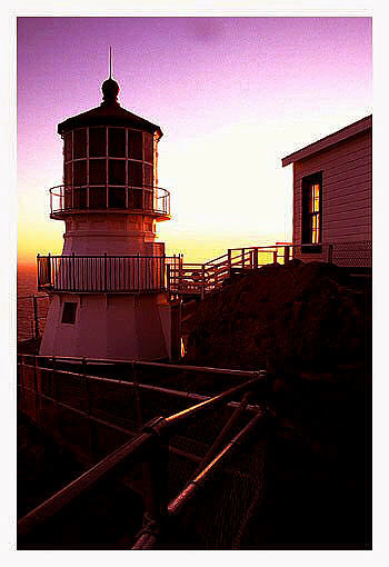 "photo ""Point Reyes Lighthouse"" tags: travel, North America"