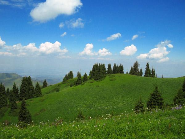 """photo """"Mountain landscape"""" tags: landscape, mountains"""