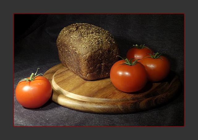 """photo """"Still-life with bread"""" tags: still life,"""