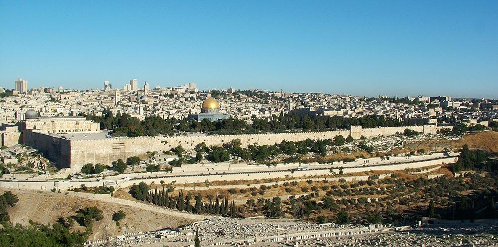 """фото """"Jerusalem Panorama #3"""" метки: путешествия, архитектура, пейзаж, Азия"""