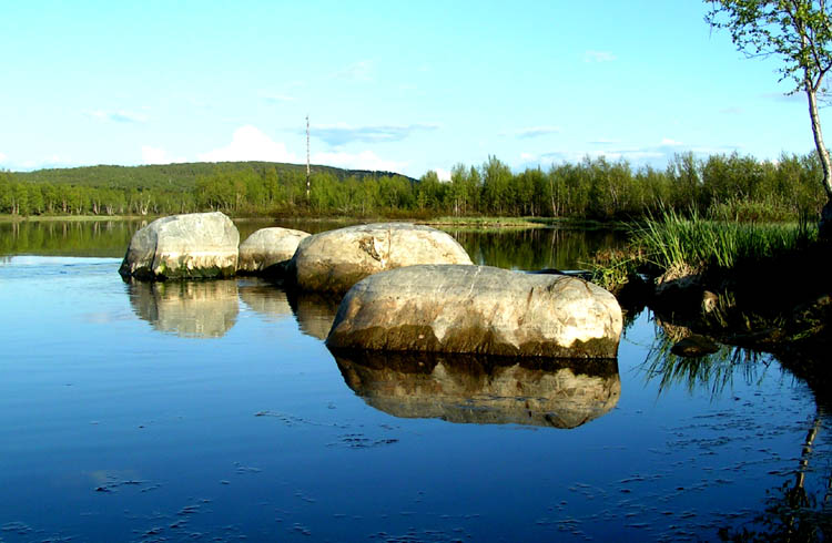 "photo ""stone"" tags: landscape, water"
