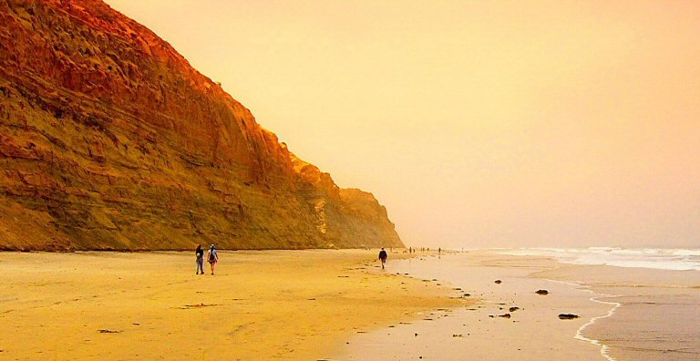 "photo ""San Diego Beach"" tags: nature, landscape,"