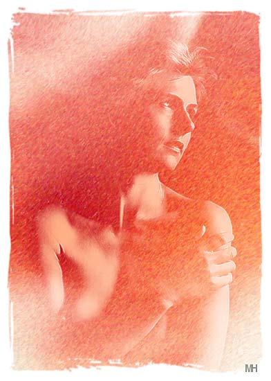 "фото ""Orange Woman"" метки: ню, портрет, женщина"