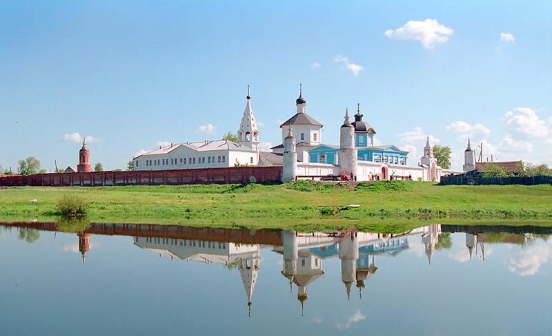 "photo ""Parfentevsky a man`s monastery"" tags: landscape, summer"