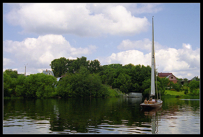 "photo ""Moscow suburbs"" tags: landscape, summer, water"