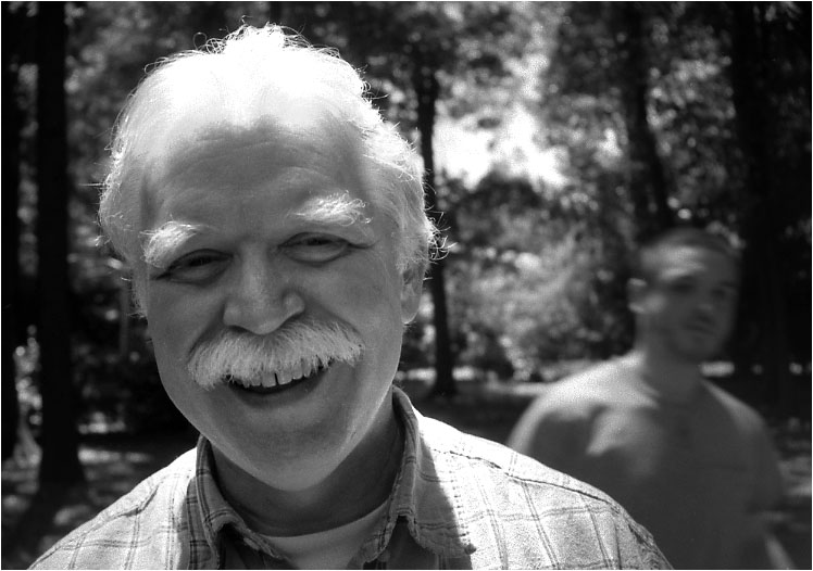 "photo ""Dad"" tags: black&white, portrait, man"