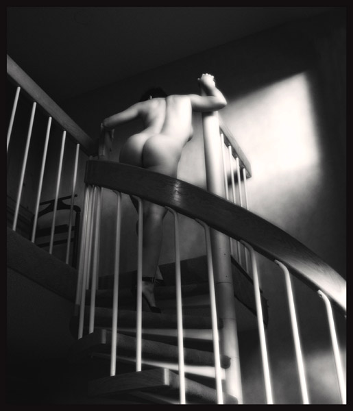 "photo ""Bring it upstairs"" tags: nude,"