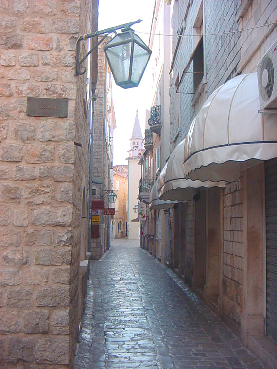 "photo ""Old streets of Budva."" tags: travel, architecture, landscape, Europe"