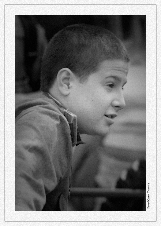 "фото ""Солдатик"" метки: портрет, черно-белые, мужчина"