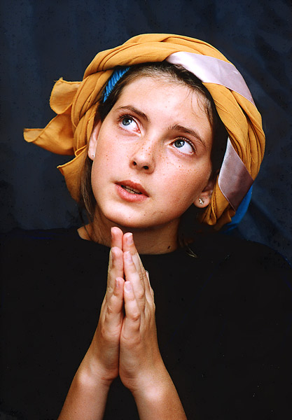 """photo """"Praying Virgin"""" tags: portrait, woman"""