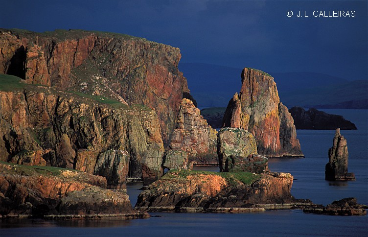 "photo ""Eshaness (Shetland)"" tags: travel, Europe"