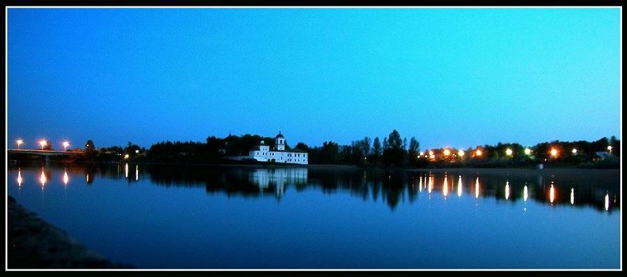 """фото """"Белая ночь, белый монастырь..."""" метки: пейзаж, ночь"""
