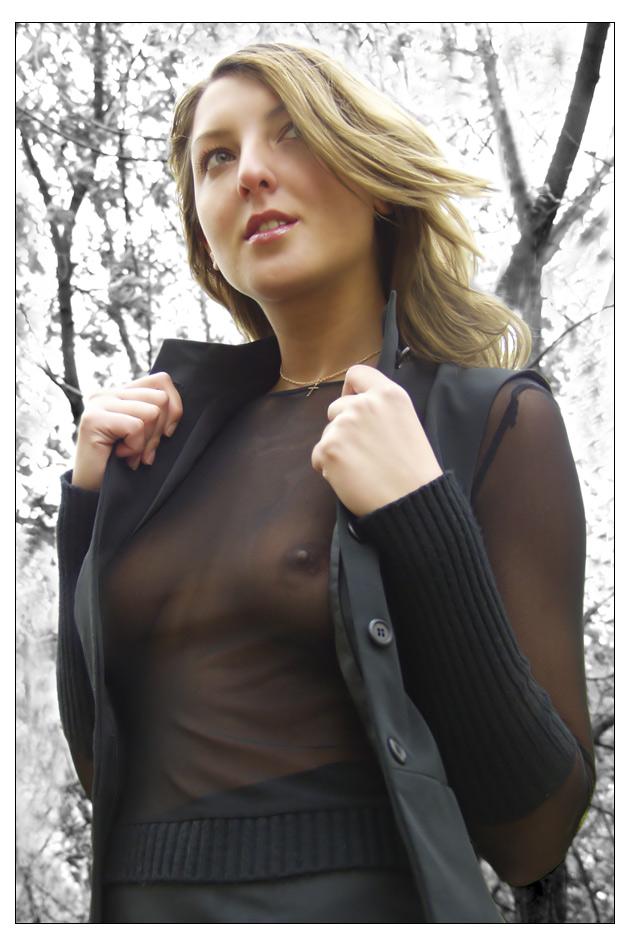 жена фото в прозрачной одежде