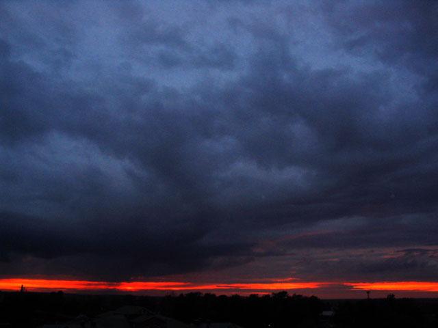 "фото ""Закат"" метки: пейзаж, закат, облака"