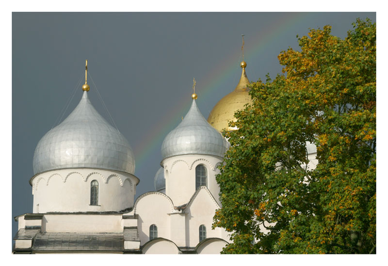 """фото """"После цветного рассвета"""" метки: пейзаж, архитектура, осень"""