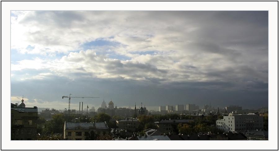"""фото """"Москва после дождя."""" метки: архитектура, пейзаж,"""
