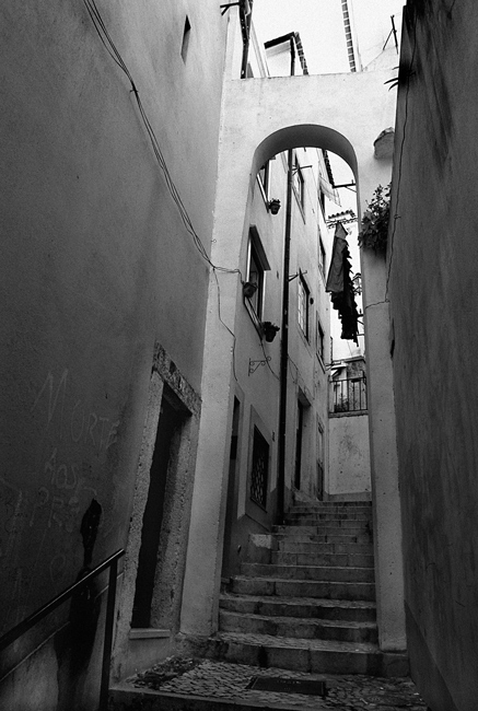 """photo """"""""Old streets of Lisbon"""" #14"""" tags: misc.,"""