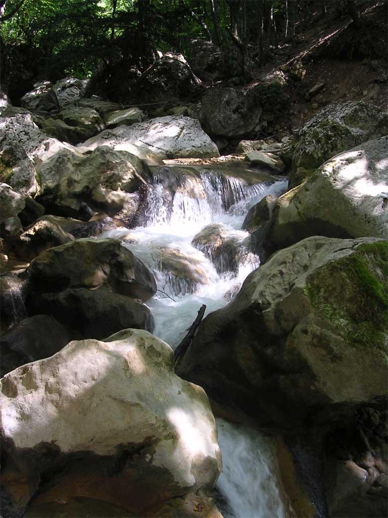 """фото """"Крым. Болшой каньон"""" метки: пейзаж, путешествия, Европа, вода"""
